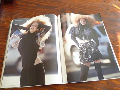 Lindsey Wixson for i-D Magazine