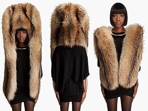 Martin Margiela Fur Headdress