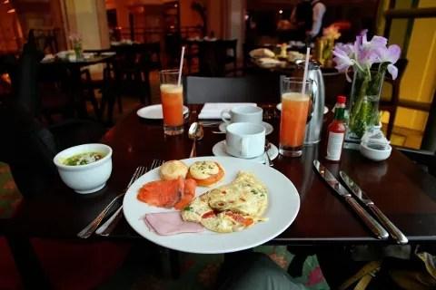Breakfast at JW Marriott Rio de Janeiro