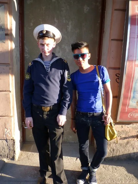 Russian Navy Cadets