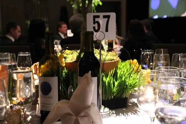 Elle Magazine Table AAFA Awards