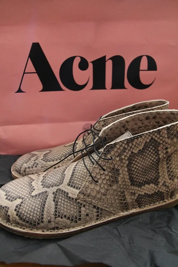 Acne Desert Boots