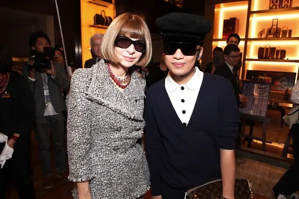 Anna Wintour at Louis Vuitton at Fashion's Night Out Tokyo 2011