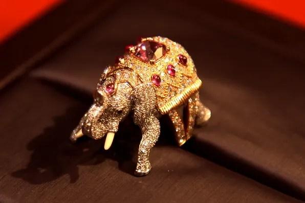 Boucheron Bague Hathi ring