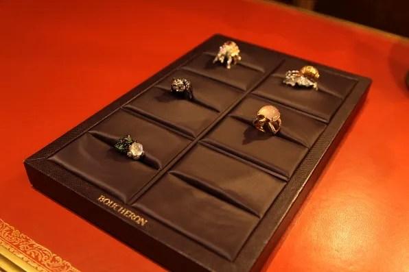 Boucheron rings from Cabinet de Curiosités collection
