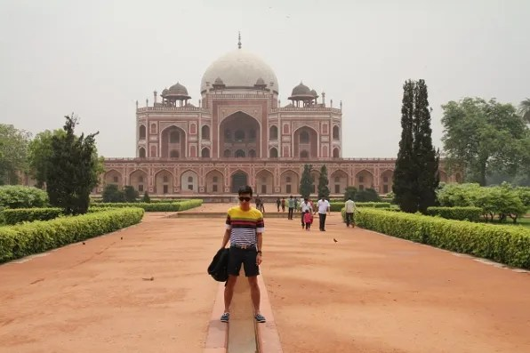 India Golden Triangle Tour - Humayun's Tomb in New Delhi