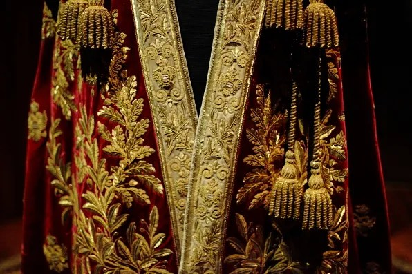 Coronation Mantel of Austrian Empire embroidered by Johann Fritz