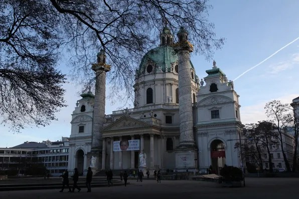 St Charles Church Vienna