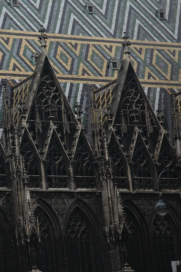 Facade of St. Stephen's Cathedral, Vienna