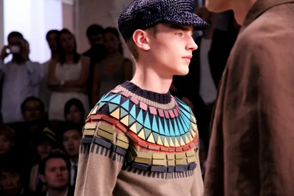 Burberry Prorsum spring summer 2012 sweater