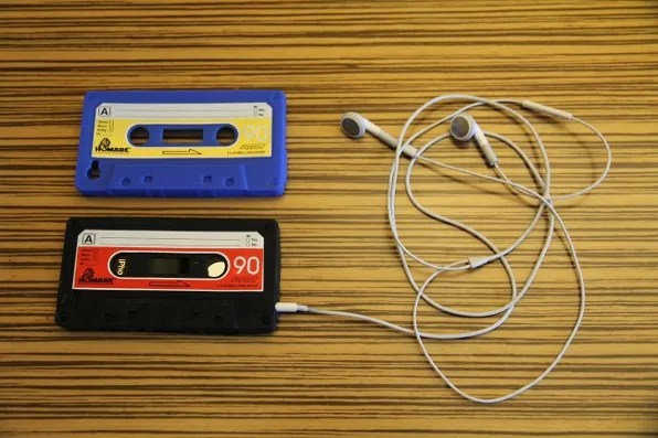Blue Cassette iPhone Case