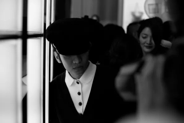 Bryanboy visiting the Christian Dior boutique, Tokyo Japan