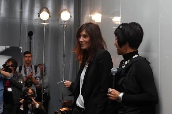 Emmanuelle Alt at Christian Dior Tokyo
