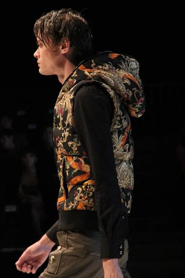 Dresscamp fall winter 2011 menswear baroque print vest