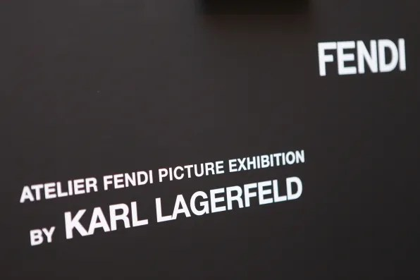 Atelier Fendi Photography Exhibition by Karl Lagerfeld