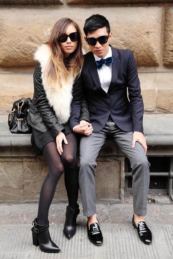 Bryanboy and Rumi in Firenze, Italy