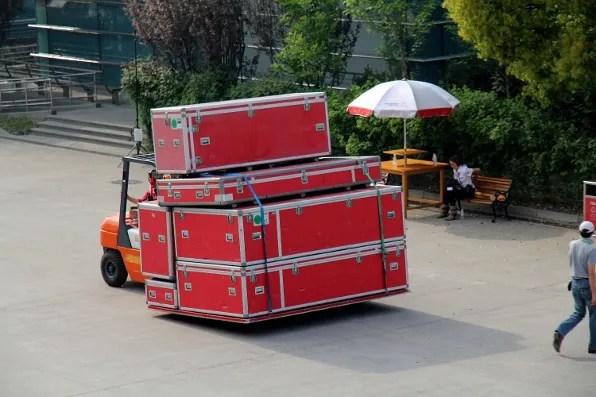Formula 1 Shanghai Luggage