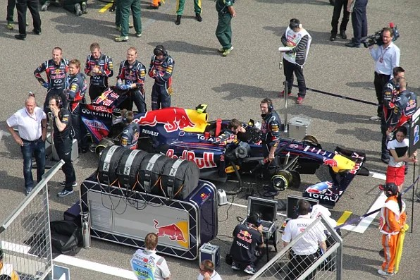 Red Bull Racing at Formula 1