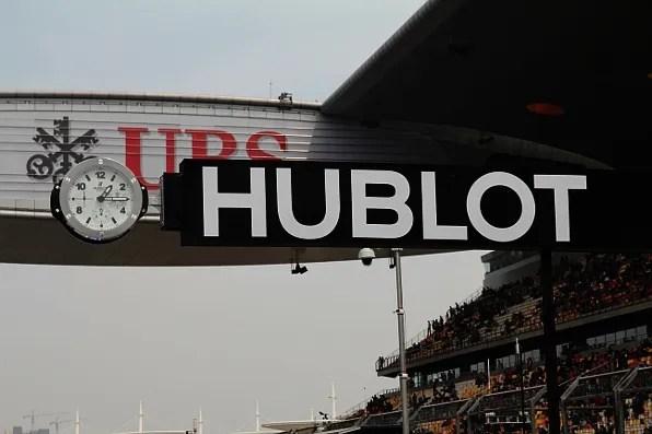 Hublot at Formula 1 Shanghai
