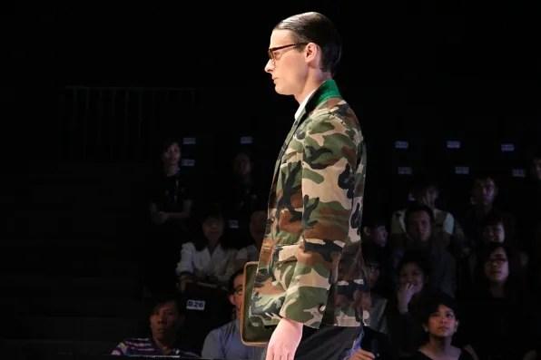 JBB* by Jirawat Bote Benchakarn camouflage jacket