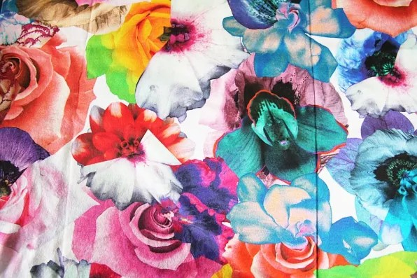 Jil Sander spring summer 2011 floral print t-shirt