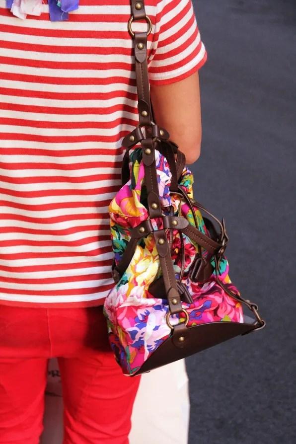 Kenzo floral bucket bag