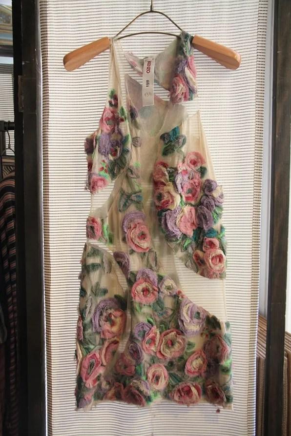 Floral Kenzo dress spring summer 2011