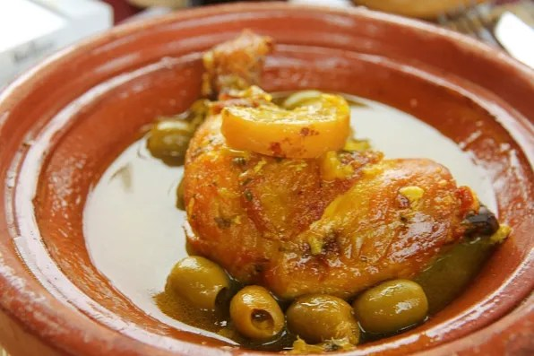 Chicken and Lime Tagine