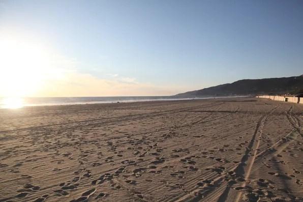 Sand at Zuma Beach, Malibu