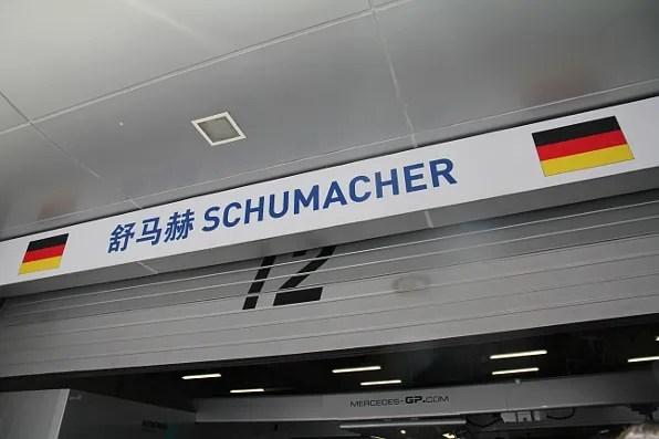 Michael Schumacher Formula 1 Shanghai