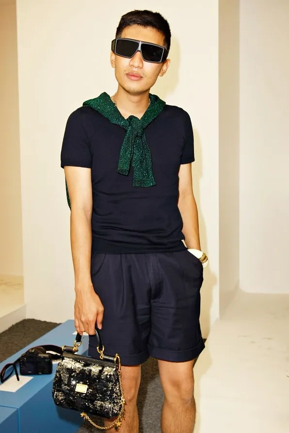 Bryanboy front row at Jil Sander spring/summer 2012