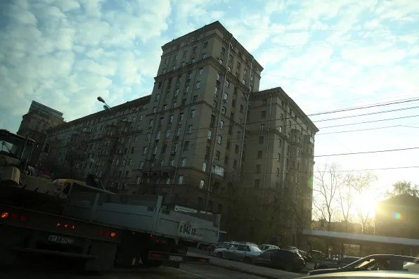 Another apartment building in Moscow