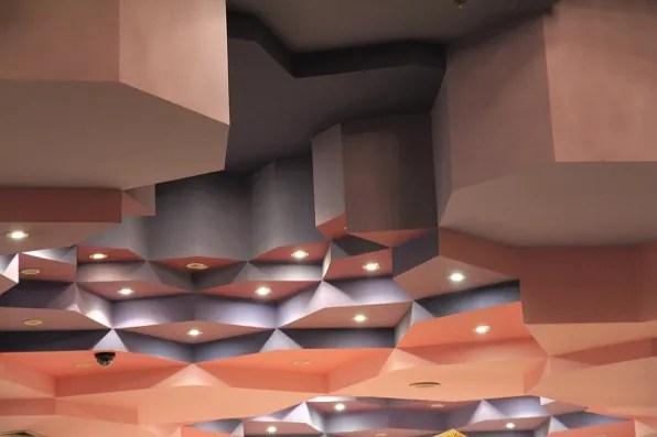 Marrakesh, Morocco Palais des Congres ceiling
