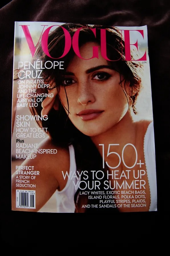Penelope Cruz for US Vogue June 2011 cover