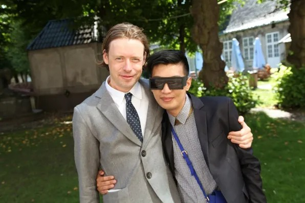 Peter Jensen and Bryanboy in Copenhagen, Denmark