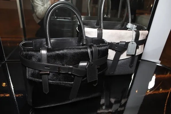 Reed Krakoff Boxer bag in black pony skin