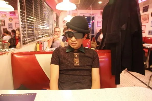 Bryanboy at Starlite Diner, Moscow