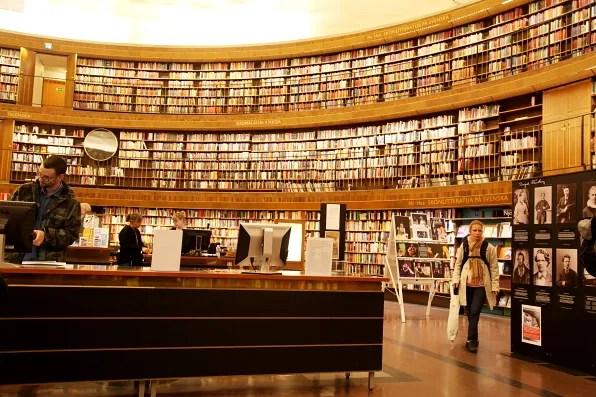 Books at Stockholms Stadsbibliotek