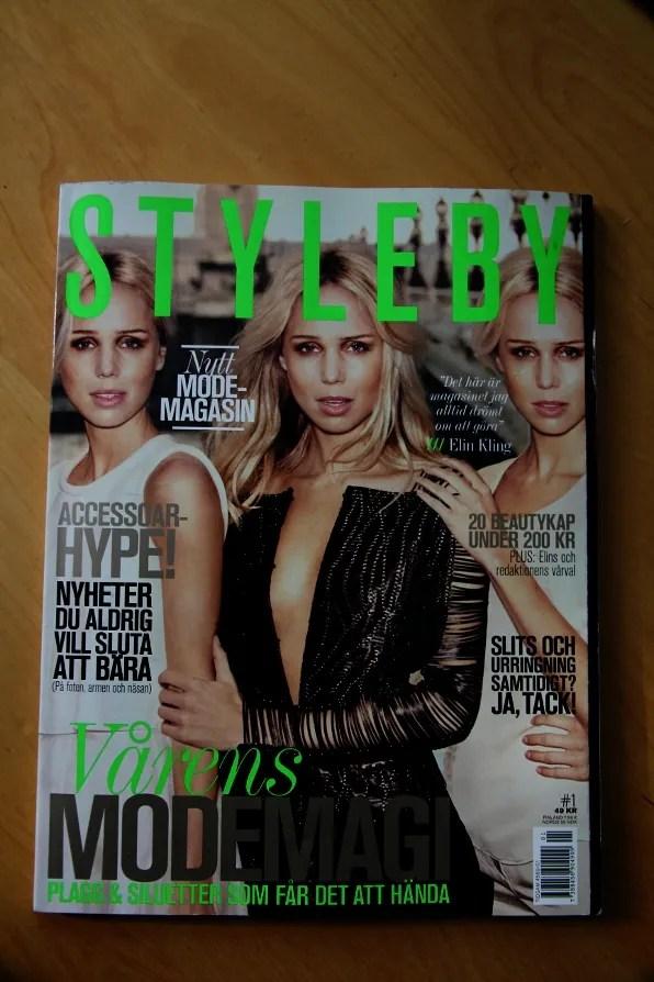 Elin Kling Styleby Magazine Cover