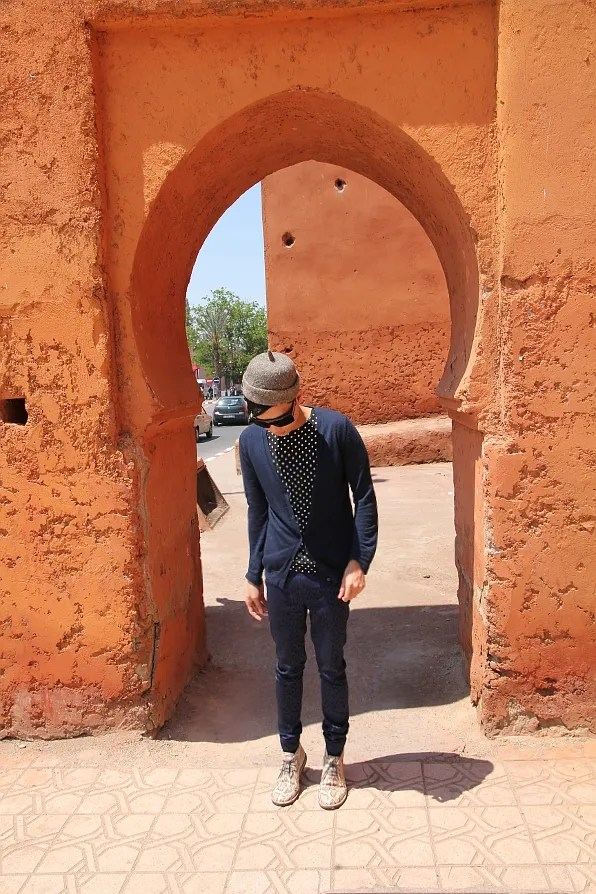 Bryanboy on the streets of Marrakesh