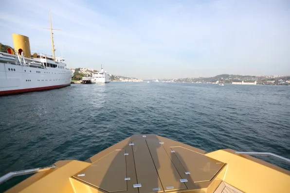 Boat ride on the Bosphorus, Istanbul