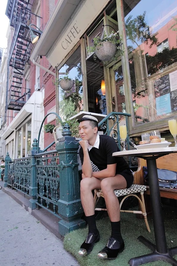 Bryanboy at Via Della Pace, New York