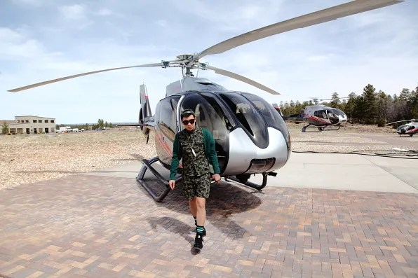 Bryanboy's Helicopter from Maverick Tours, Arizona