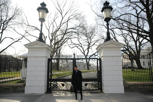 White House gates