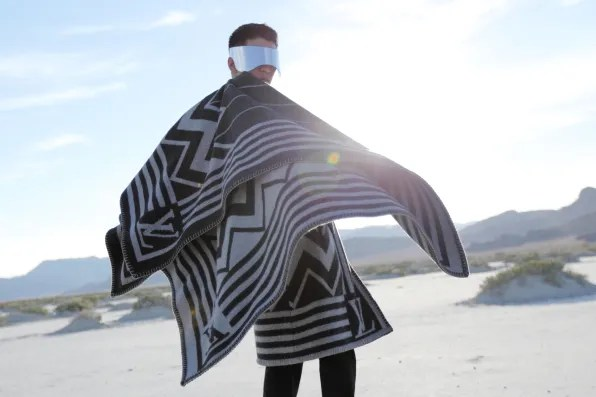 Bryanboy wearing Alexander McQueen and Louis Vuitton at the Salt Flats in Utah