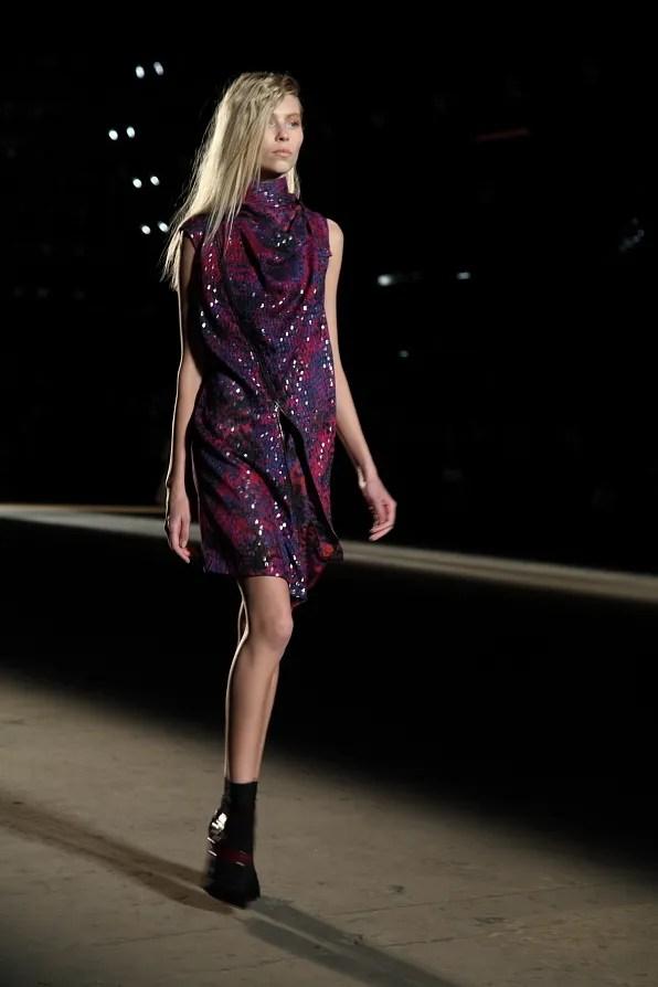 Sequined dress from Edun fall winter 2012