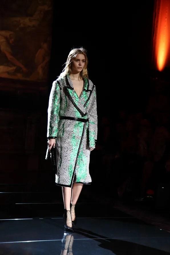 Francesco Scognamiglio fall/winter 2012 coat
