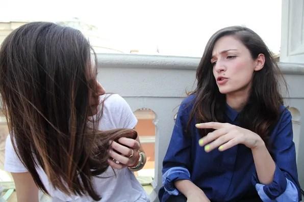 Gala Gonzalez and Eleonora Carisi