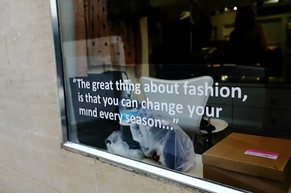The great thing about fashion...