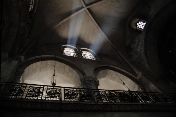 Skylight at Church of the Holy Sepulchre